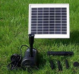 "Solar Pump and Solar Panel Kit With 56"" Head"