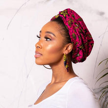 Load image into Gallery viewer, Faridah Satin-Lined Turban | Shop Ekete