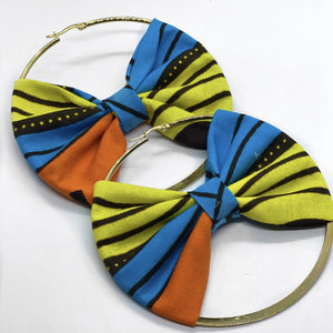 Chinwe Hoop Earring with Bow