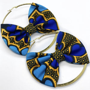 Ziri Hoop Earring with Bow | Shop Ekete