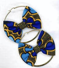 Load image into Gallery viewer, Ziri Hoop Earring with Bow | Shop Ekete