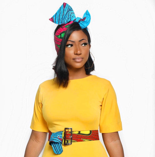 Akiki Wired Turban | Shop Ekete