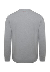 BIG-BAD CREW NECK SWEATSHIRT - GREY MARL - Ed Hardy Official