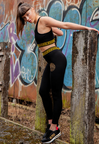 BIG-TOUR LEGGING - BLACK - Image 2