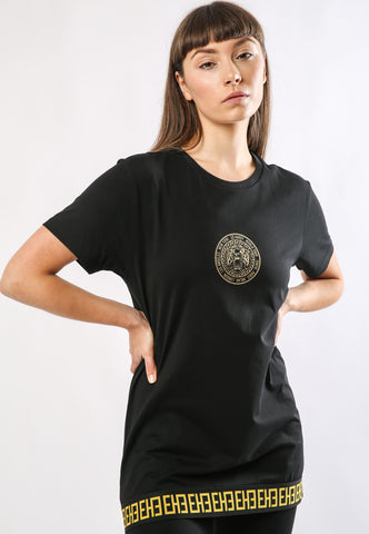BIG-TOUR T-SHIRT LADIES - BLACK