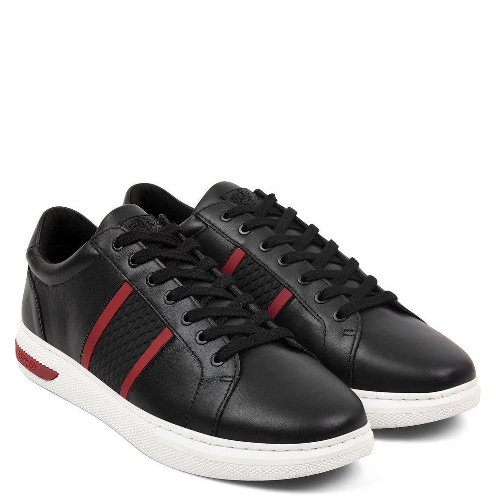 BLADE LOW TOP - BLACK/RED/WHITE - Ed Hardy Official
