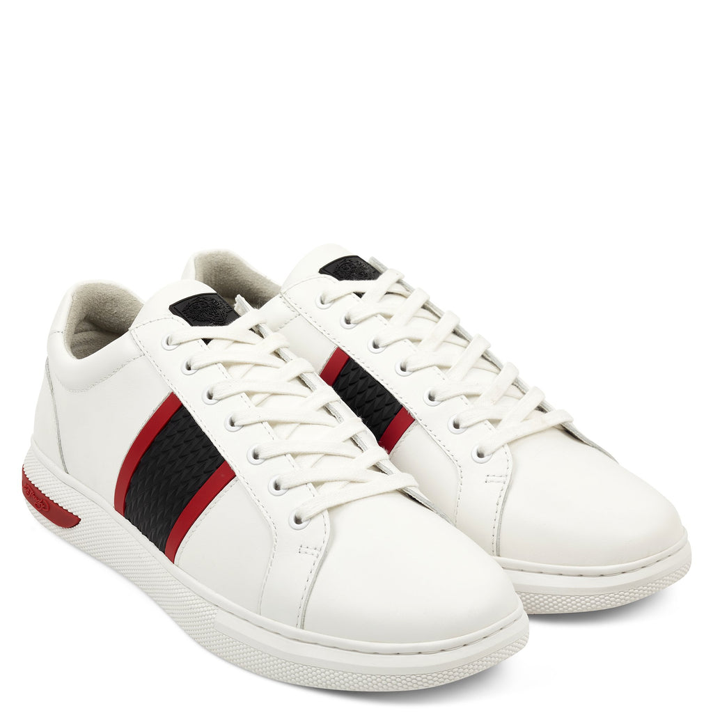 BLADE LOW TOP - WHITE/BLACK/RED - Ed Hardy Official