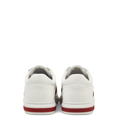 BLADE LOW TOP - WHITE/BLACK/RED - Image 2