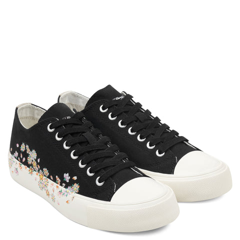BLOSSOM LOW TOP - BLACK