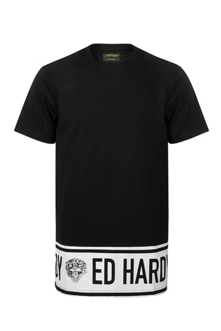 BORDER ED T SHIRT-BLACK