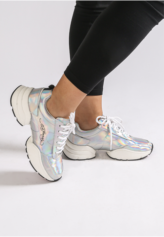 CAGED RUNNER-IRIDESCENT - IRIDESCENT SILVER - Image 2