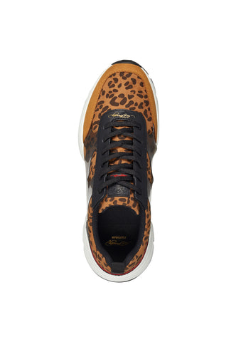 CAGED RUNNER-WILD - TAN/LEOPARD - Image 2
