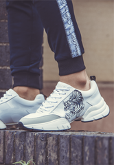 CAGED RUNNER-TIGER - WHITE/BLACK - TIGER PACK