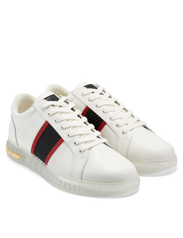 CLEAR-BLADE LOW TOP-WHITE