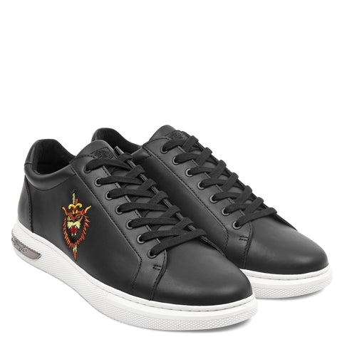 DAGGER LOW TOP - BLACK