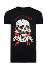 DEATH-STUD T-SHIRT - BLACK - Ed Hardy Official