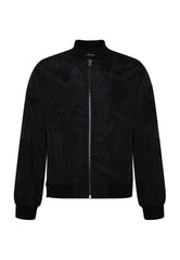 DRAG-CLOUD NYLON BOMBER JACKET - BLACK - Ed Hardy Official