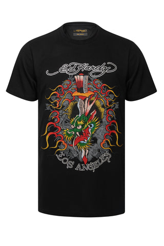 DRAG HEAD T SHIRT-BLACK