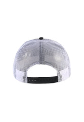 ED-GLOBAL FOAM FRONT MESH TRUCKER - BLACK/WHITE