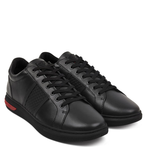 BLADE LOW TOP - BLACK/RED
