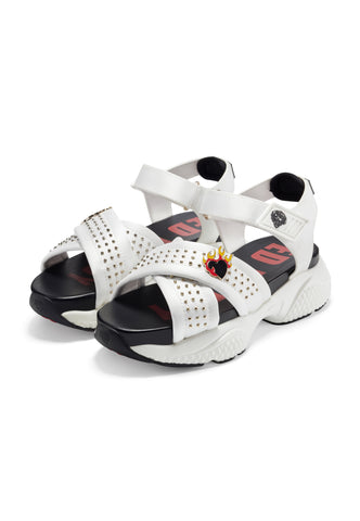 FLAMING SANDAL-WHITE