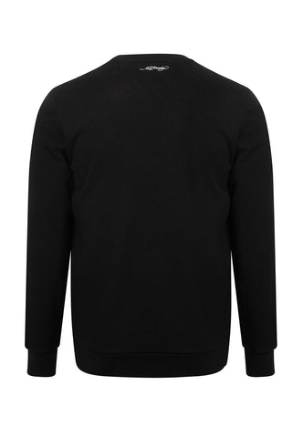 GOLD ROAR CREW SWEAT-BLACK - Image 2