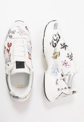 INSERT RUNNER-DOODLE-WHITE/MULTI - Ed Hardy Official