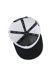 LA-CALI FOAM FRONT MESH TRUCKER - BLACK/WHITE