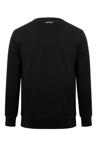 LOVE ED CREW SWEAT-BLACK - Image 2