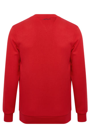 LOVE ED CREW SWEAT-RED - Image 2