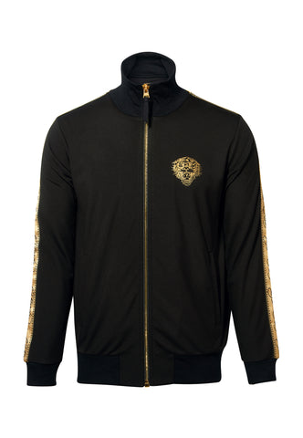 LOVE ED TRACK TOP-BLACK