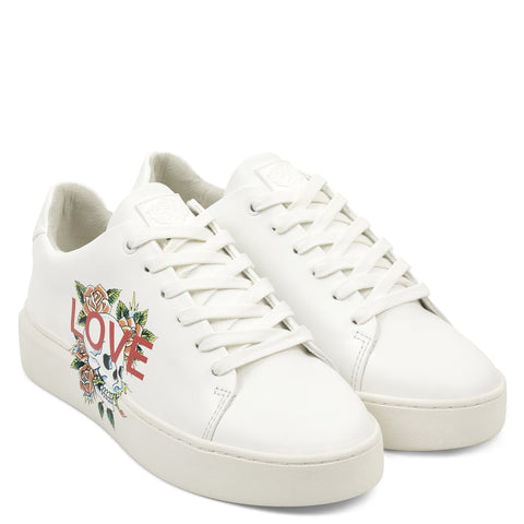 LOVE LOW TOP-WHITE