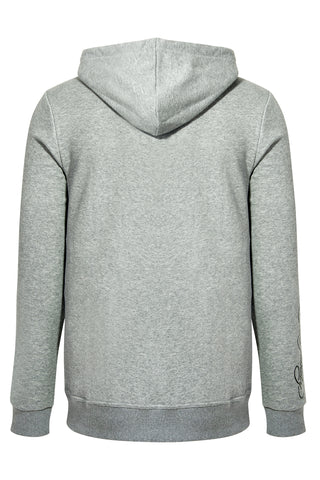 MATT TIGER HOODY-GREY MARLE - Image 2