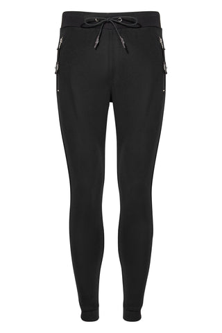 MATT TIGER JOGGER-BLACK