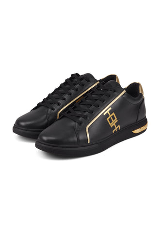 MONO LOW TOP-BLACK/GOLD