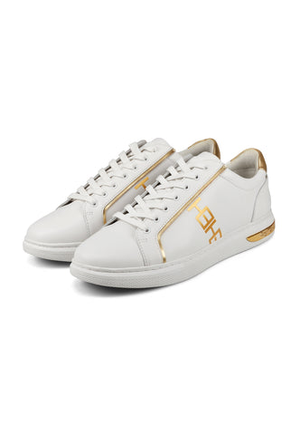 MONO LOW TOP-WHITE/GOLD