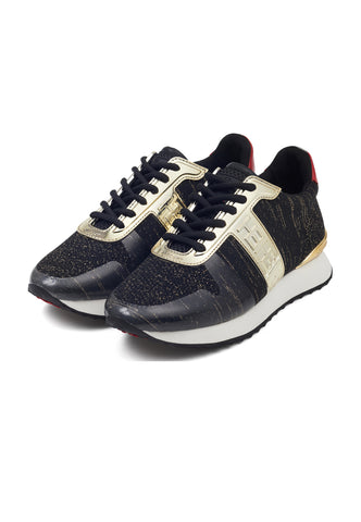 MONO RUNNER-METALLIC-BLACK/GOLD