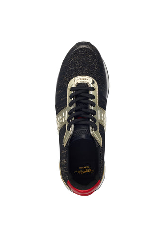 MONO RUNNER-METALLIC-BLACK/GOLD - Image 2