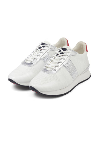 MONO RUNNER-METALLIC-WHITE/SILVER