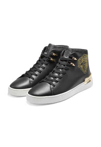 NEW BEAST HIGH TOP-BLACK/WHITE/GOLD