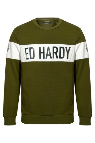 NYC ED CREW SWEAT-KHAKI