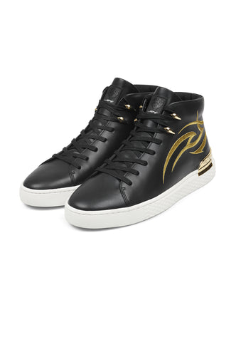 OUTSIDER HI TOP-BLACK/GOLD
