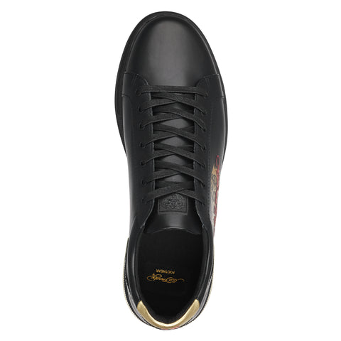 POP LOW TOP-BLACK/GOLD - Image 2