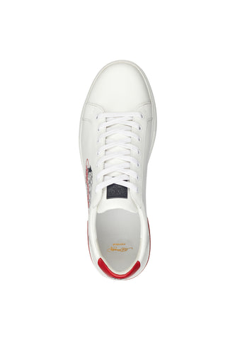 POP LOW TOP-WHITE/RED - Image 2