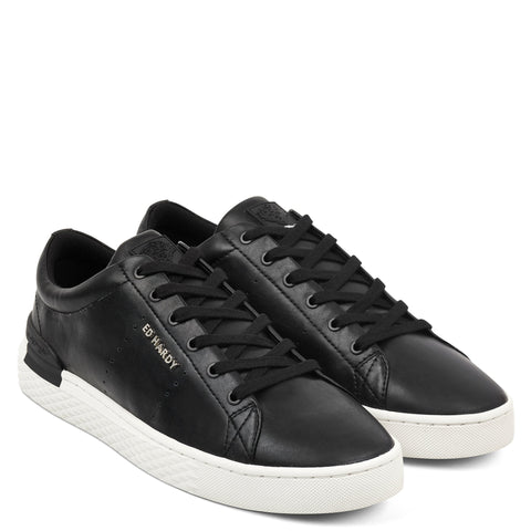 PURE LOW TOP-BLACK