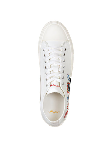 RACER LOW TOP-WHITE - Image 2