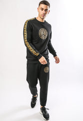 ROAR-TOUR CROP JOGGER - BLACK