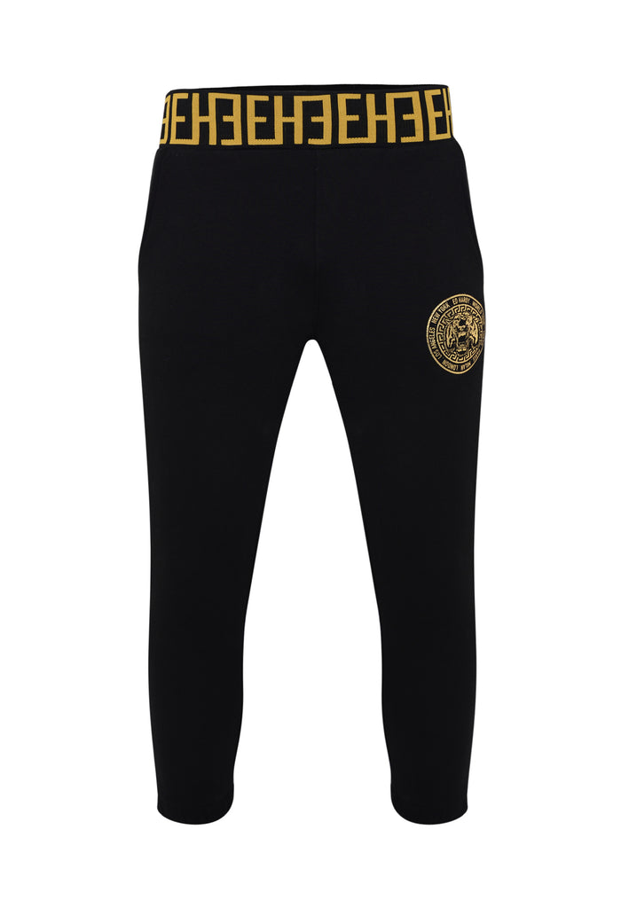 ROAR-TOUR CROP JOGGER - BLACK - Ed Hardy Official