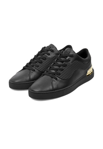 SCALE LOW TOP-BLACK/GOLD