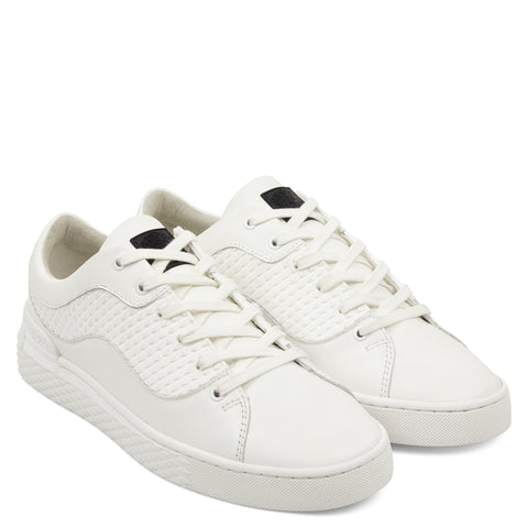 SCALE LOW TOP-WHITE